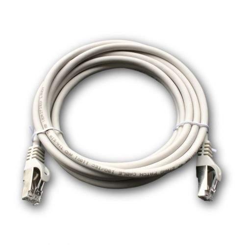 DATACOM Patch cord S/FTP CAT6A 3m šedý