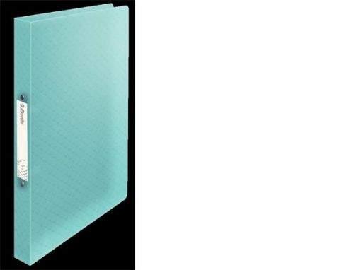 NOBO Měkké desky PP. 2 kulaté kroužky. Hřbet 25 mm. A4, modré