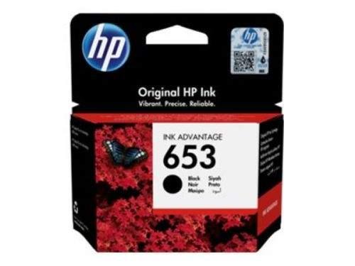 HP 653 černá inkoustová náplň (3YM75AE)