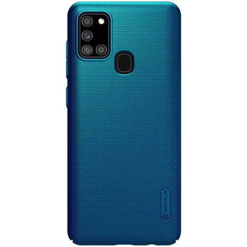 NONAME Nillkin Super Frosted Kryt Samsung A21s Blue