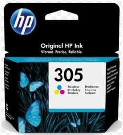 HP Inc Trojfarebná originálna atramentová kazeta HP 305