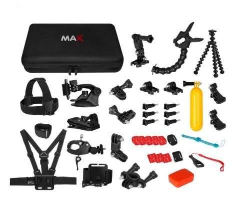 MAX MAC2001B univerzální sada 43v1 příslušenství pro akční kamery - 1112786