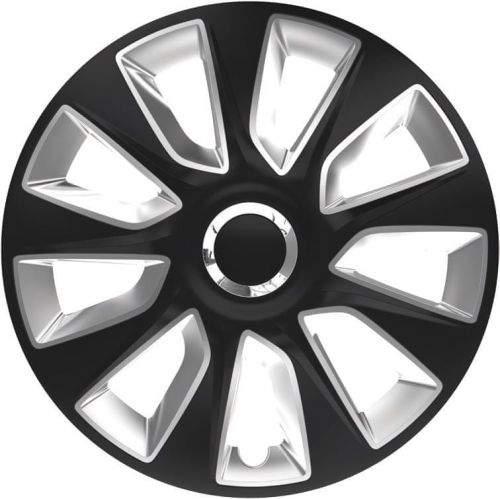 Versaco Poklice STRATOS RC Black/Silver sada 4ks 15