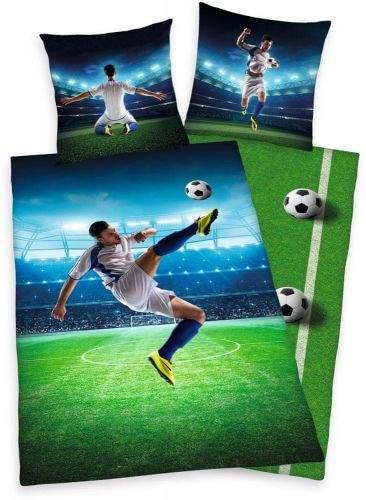Herding bavlna povlečení Football 140x200 70x90