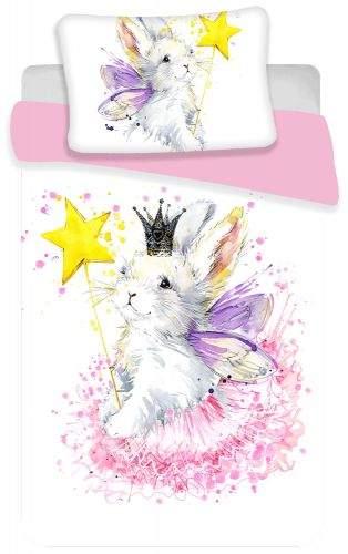 Jerry Fabrics povlečení Bunny Baby 18BS290 60x40 cm 135x100 cm