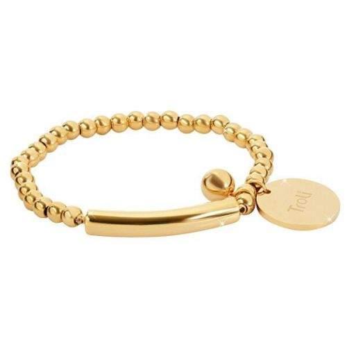 Troli zlatý náramek KBS-451 Gold