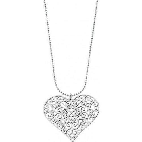 Morellato Náhrdelník filigránové srdce Arie SALT02 (řetízek, příívěsek)
