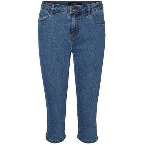 Vero Moda Dámské kraťasy VMHOT 10193077 Medium Blue (Velikost XS)
