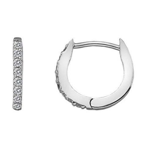 Hot Diamonds Stříbrné náušnice s topazy Flora DE581