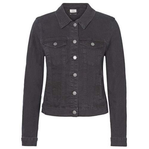 Vero Moda Dámská džínová bunda VMHOT SOYA 10193085 Black (Velikost XS)