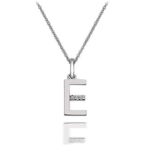 Hot Diamonds Přívěsek Hot Diamonds Micro E Clasic DP405 stříbro 925/1000