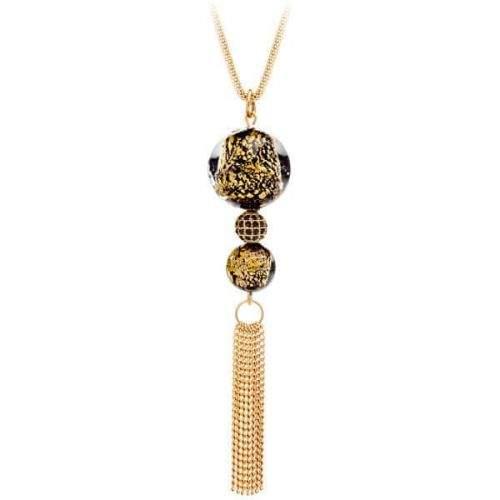 Preciosa Luxusní náhrdelník s vinutými perlemi Ribes 7348Y21