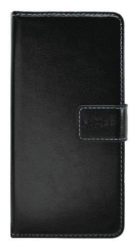 Fixed Pouzdro typu kniha Opus pro Apple iPhone 11, černé (FIXOP-428-BK)