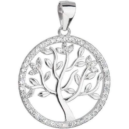 Evolution Group Stříbrný přívěsek strom života 14001.1 stříbro 925/1000