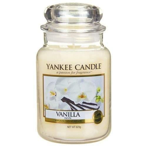 Yankee Candle Svíčka ve skleněné dóze , Vanilka, 623 g