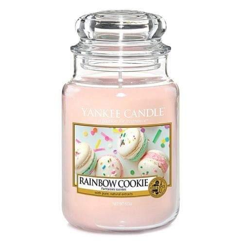 Yankee Candle Svíčka ve skleněné dóze , Duhové makronky, 623 g