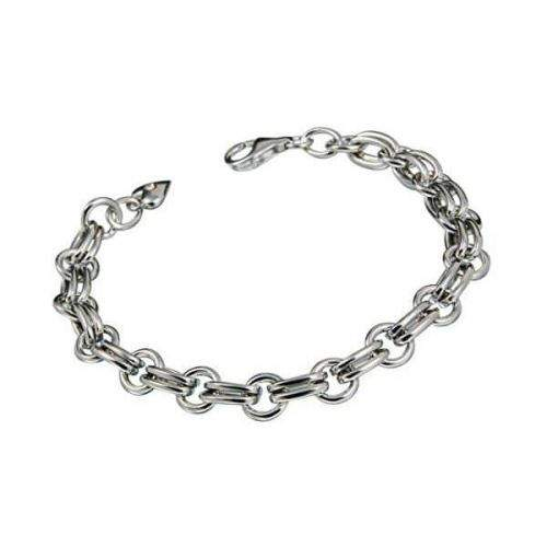 Hot Diamonds Stříbrný náramek s diamantem Charm Statement DL071