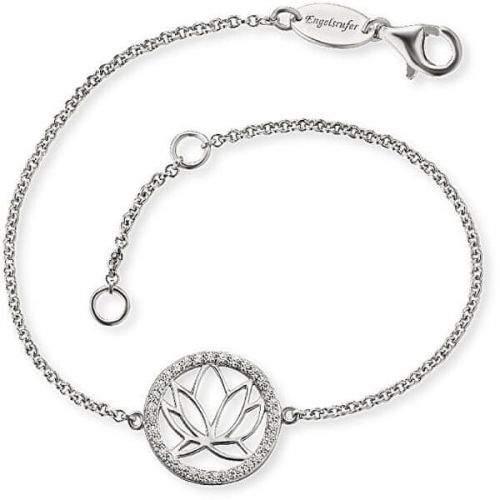 Engelsrufer Stříbrný náramek s lotosovým květem ERB-LOTUS-ZI