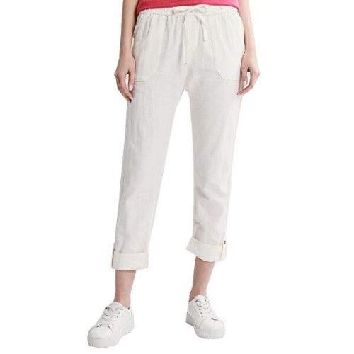 Roxy Dámské kalhoty On The Seashore Snow White ERJNP03294-WBK0 (Velikost XS)