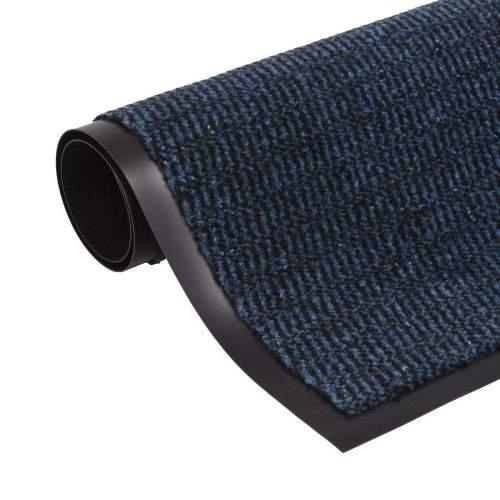 shumee Protiprachová obdélníková rohožka všívaná 90x150cm modrá