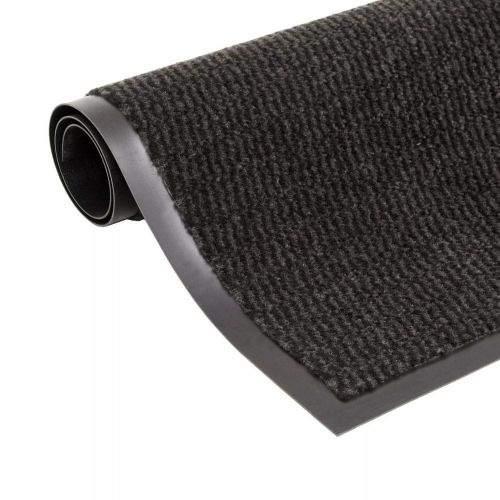 shumee Protiprachová obdélníková rohožka všívaná 80x120cm černá