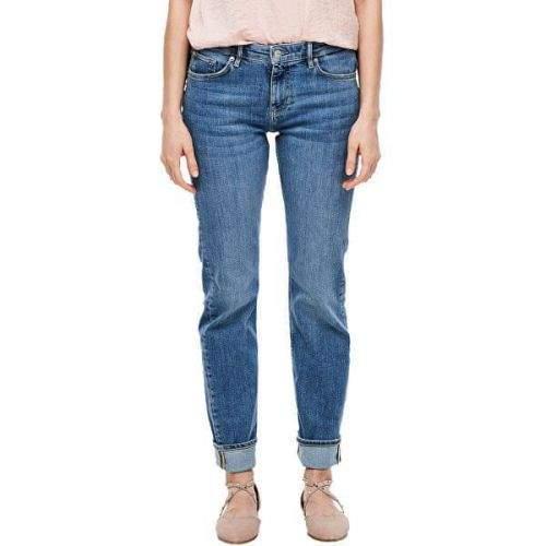 s.Oliver Dámské straight fit džíny 14.003.71.6069.54Z5 Blue denim stretch (Velikost 34/30)