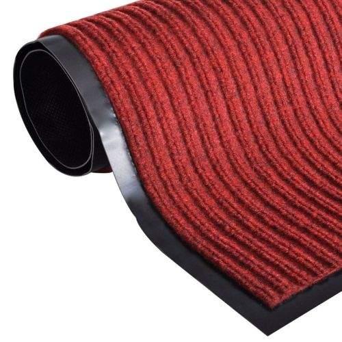 shumee Červená PVC rohožka 90 x 150 cm