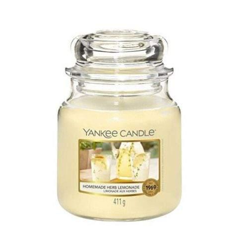 Yankee Candle Aromatická svíčka Classic střední Homemade Herb Lemonade 411 g