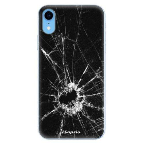 iSaprio Silikonové pouzdro - Broken Glass 10 pro Apple iPhone Xr