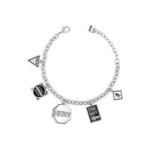 DKNY Fashion náramek s přívěsky New York 5547984