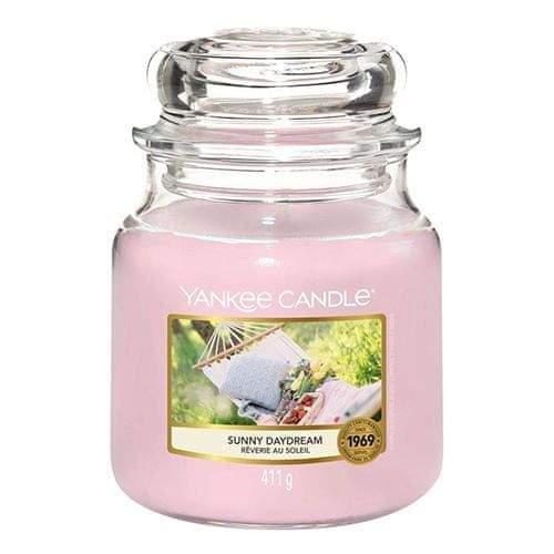 Yankee Candle Svíčka ve skleněné dóze , Snění za slunečného dne, 410 g