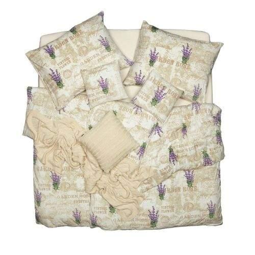 SCANquilt povlečení VELUR lavender
