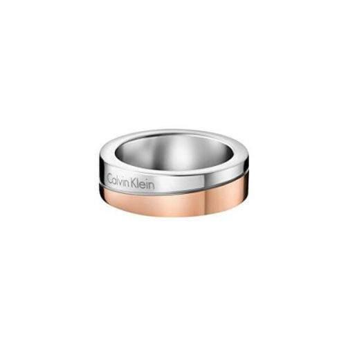Calvin Klein Bicolor prsten Hook Thin KJ06PR20010 (Obvod 50 mm)
