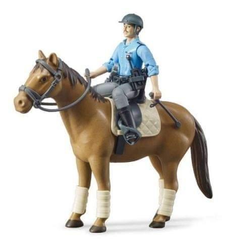 Bruder 62507 BWORLD Policista na koni