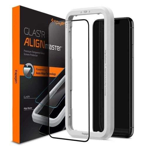 Spigen Glas.Tr Full Cover tvrzené sklo na iPhone 11 / XR, černé