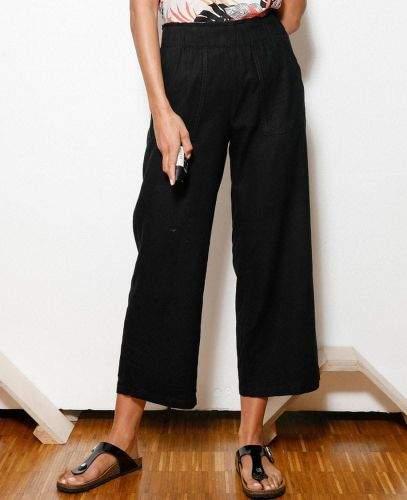 s.Oliver dámské kalhoty 14.005.76.3079 34 černá