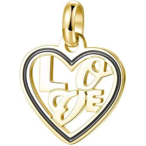 Brosway Pozlacený ocelový přívěsek Love Très Jolie BTJM276