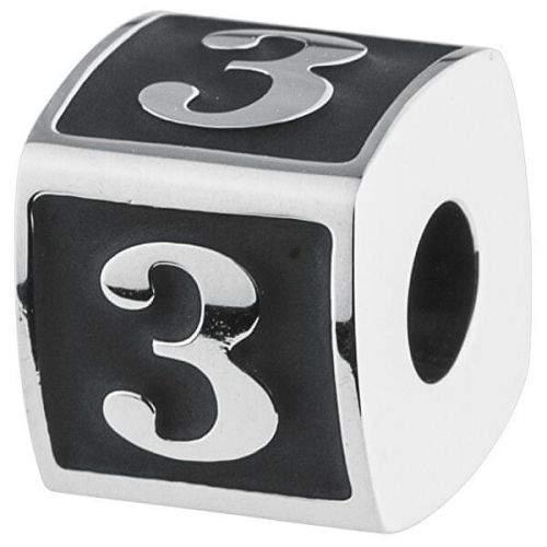 Brosway Ocelový přívěsek Numbers 3 TJ Man BTJN72