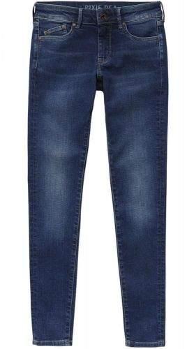 Pepe Jeans dámské džíny Pixie PL200025DE4 26/30 tmavě modrá