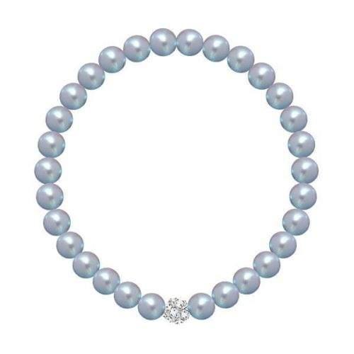 Preciosa Perličkový náramek Velvet Pearl 2219 19