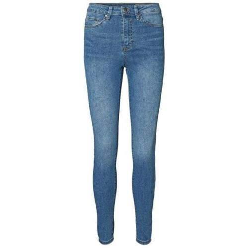 Vero Moda Dámské skinny džíny VMSOPHIA 10193330 Light Blue Denim (Velikost L/30)