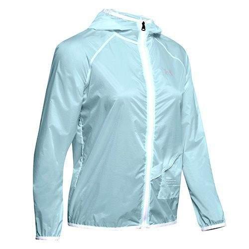 Under Armour UA Qualifier Storm Packable Jacket-BLU, UA Qualifier Storm Packable Jacket-BLU | 1326558-462 | MD