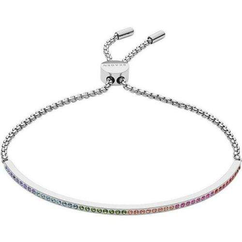 Skagen Ocelový náramek s krystaly SKJ1291040