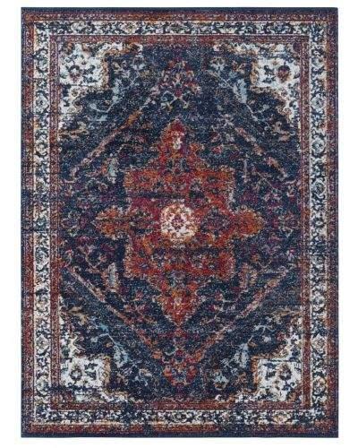 NOURISTAN AKCE: 80x150 cm Kusový koberec Lugar 104091 Midnight Blue 80x150