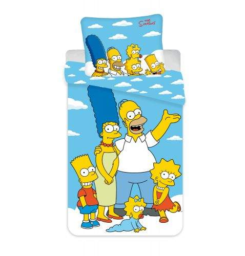Jerry Fabrics Povlečení Simpsonovi Rodina Oblaka 02