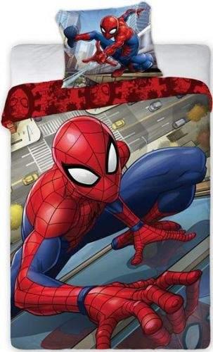 Faro Povlečení Spiderman Crawl bavlna 140x200 70x90