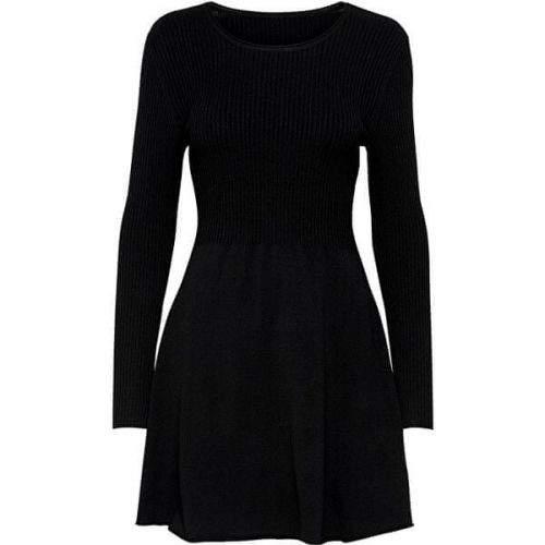 ONLY Dámské šaty ONLALMA 15185761 Black (Velikost M)