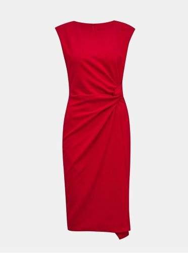 ZOOT červené pouzdrové šaty Lauren S