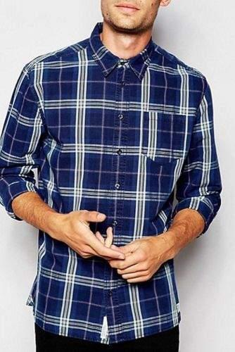 Pepe Jeans Košile PEPE JEANS PM302959 INDIGO Velikost: XL