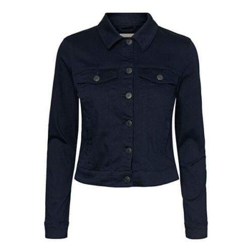 Vero Moda Dámská džínová bunda VMHOT 10209864 Navy Blazer (Velikost S)